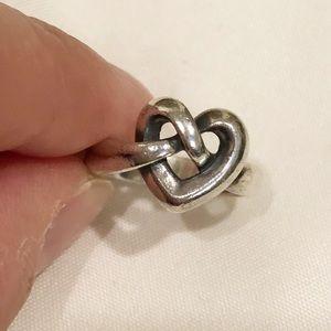 James Avery Heart Knot Ring